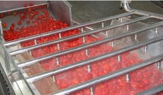 扇形喷嘴清洗水果