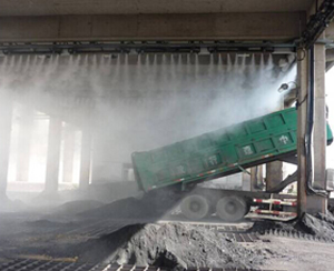 喷雾降尘系统